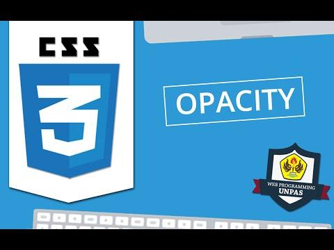 CSS3 : Opacity