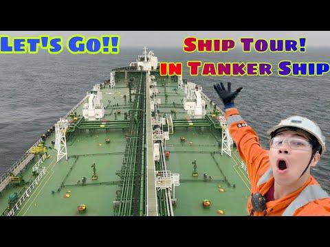 Tanker Vessel Ship Tour! | Inside the  Tanker Ship | Life at Sea