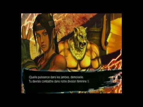 Street Fughter x Tekken:  julia/king  mode arcade
