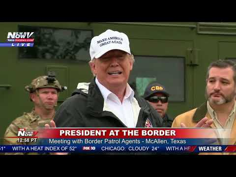 FULL BORDER BRIEFING: President Trump Learns Of Large Illegal Immigration Arrests At Border