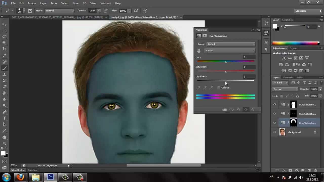 Photoshop cs6 tutorial navi avatar effect youtube baditri Images