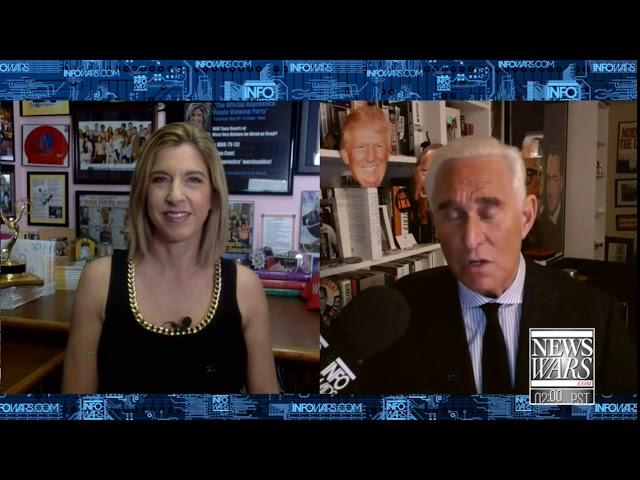 Tana Goertz on Infowars Roger Stone