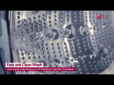 LG TWINWash™ Washing Machine - Fast and Clean Wash