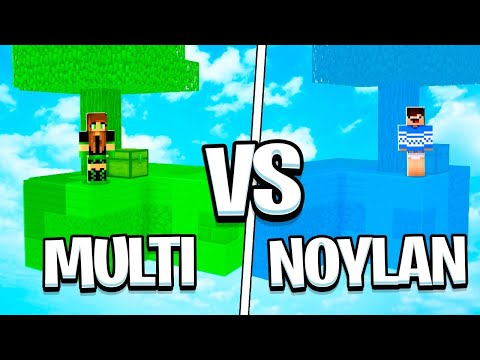 ILHA NOYLAN VS ILHA MULTIGIRLBR NO MINECRAFT!