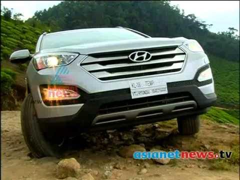 Hyundai Santa Fe 2014  : Smart Drive 10th March 2014  Part 2  സ്മാര്ട്ട് ഡ്രൈവ്