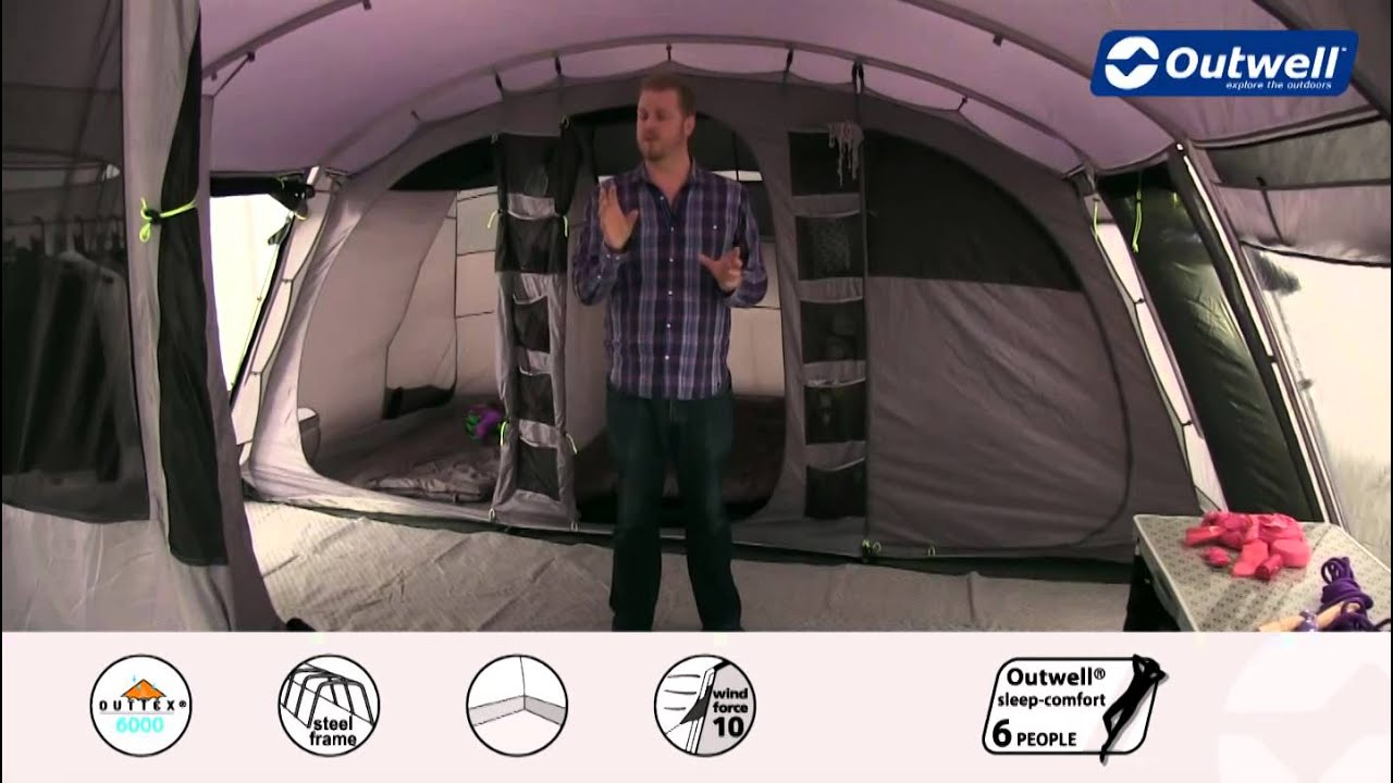 Outwell Tent Vermont XLP - 2015 | Innovative Family C&ing & Outwell Tent Vermont XLP - 2015 | Innovative Family Camping - YouTube