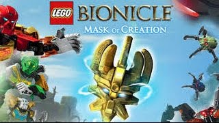 Lego Bionicle  Mask Of Control  #1 Простенькое обучение :D
