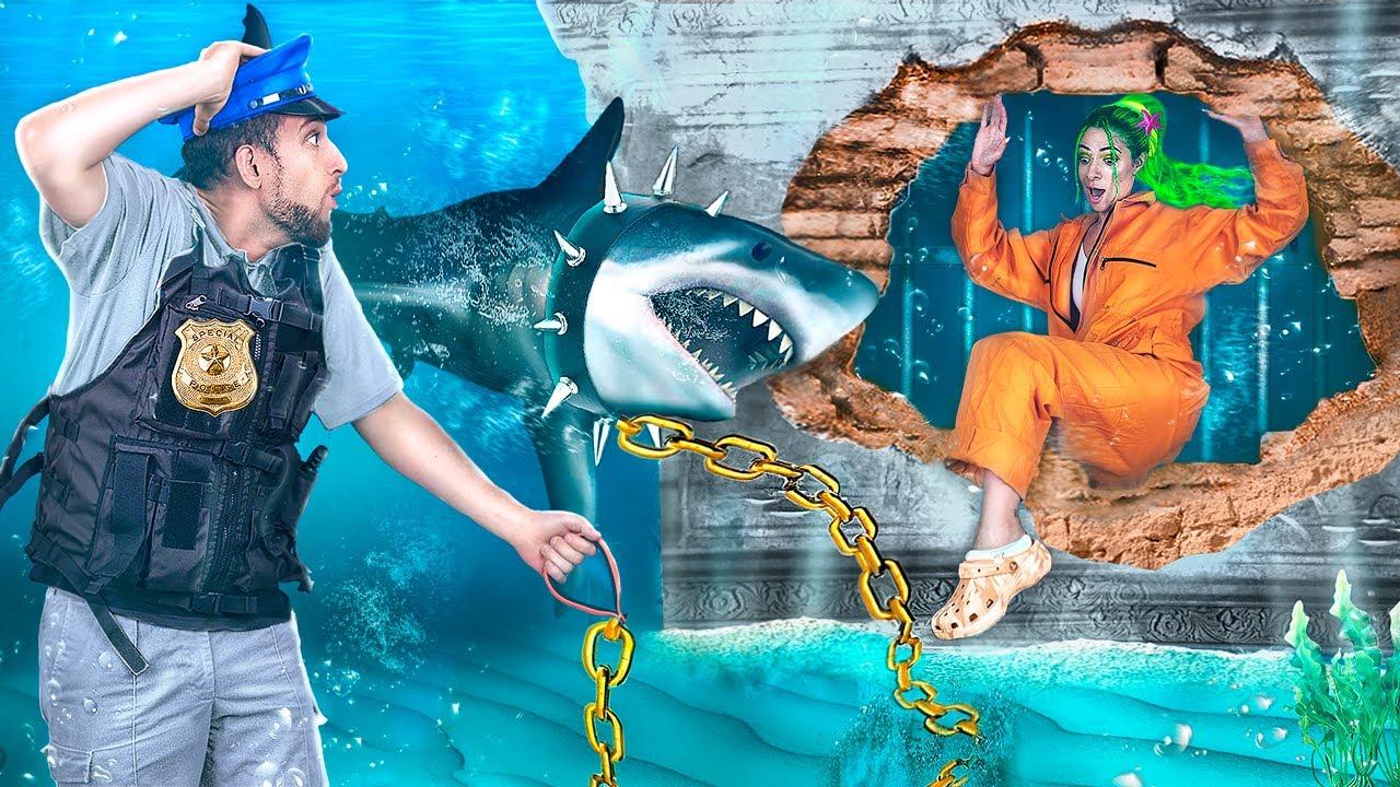 Побег из подводной тюрьмы