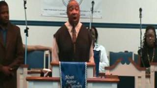 REV. EDWARD J. HEATH / PASTOR SERMON/ VIDEO BY: LARRY B. MOORE
