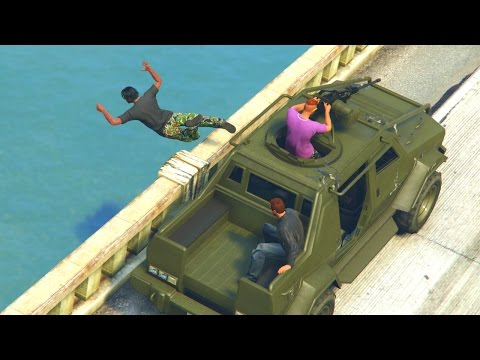 GTA 5 Online - THE GREATEST ESCAPE EVER! (GTA V Online)