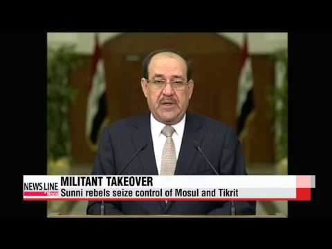 Iraq insurgents seize control of Tikrit