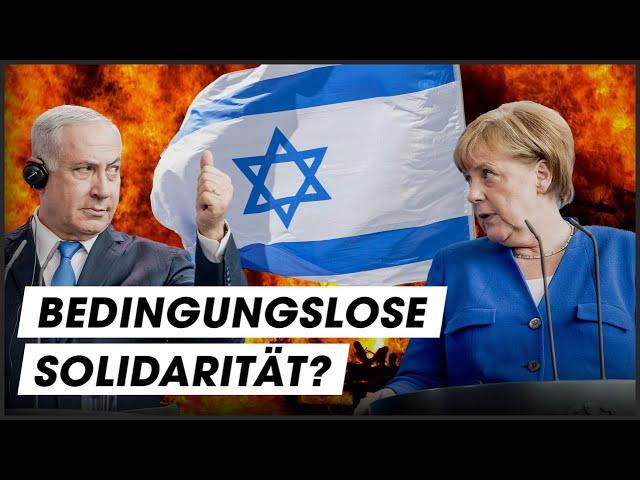 Warum Deutschland IMMER hinter Israel steht