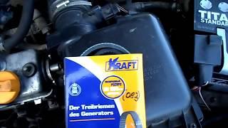 видео Как поменять ремень генератора на ваз 2114