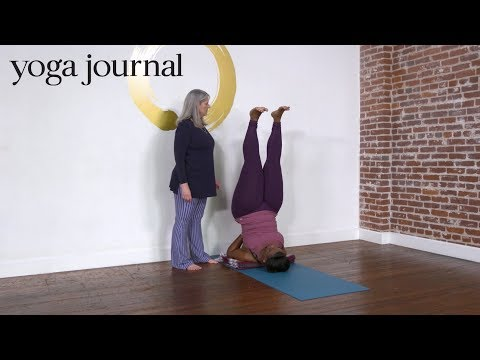 A Safe, Sustainable Shoulderstand You Can Practice For Life