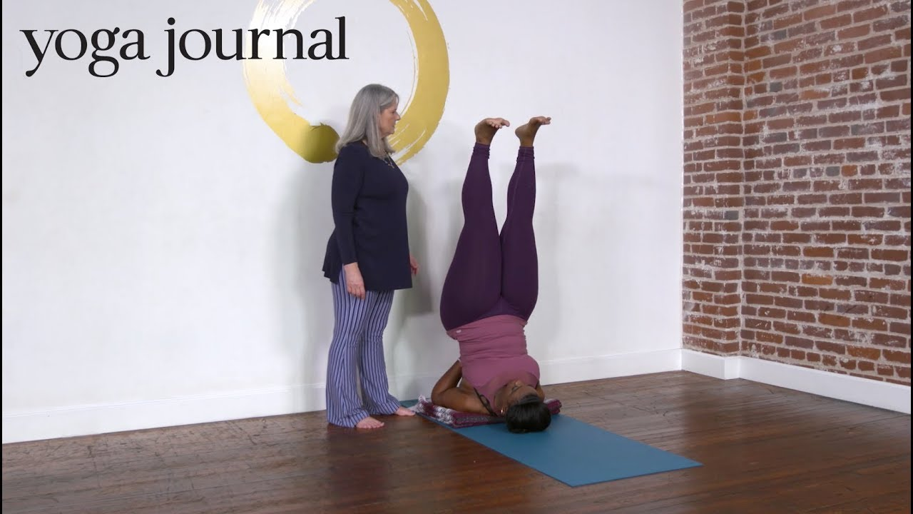 Shoulder Stand Yoga With Adriene