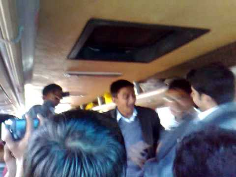 boys dancing in van.mp4(FAUJI FOUNDATION INTER COLLEGE KHUSHAB VIDEOS BY HAIDER SHAH HAMDANI)