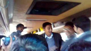 boys dancing in van.mp4(FAUJI FOUNDATION INTER COLLEGE KHUSHAB VIDEOS BY HAIDER SHAH HAMDANI)