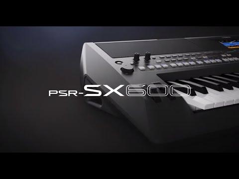 Yamaha PSR-SX600 - A New Keyboard from Yamaha! 03.08.2020 - YouTube