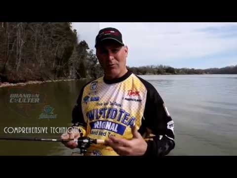 Brandon Coulter Elite Tips:  Bass Fishing In Late Winter / Early Spring