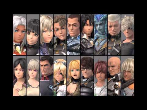Xenoblade Chronicles X - Party Members Combat, Victory/Defea