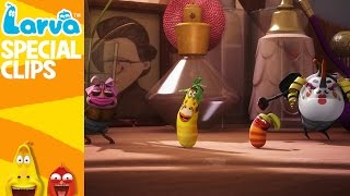 official dance - 1 min - fun clips from animation larva