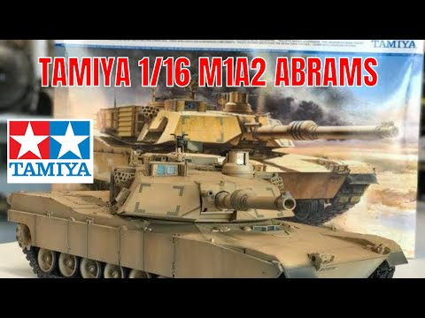 Building the  all new Tamiya 1/16 M1A2 Abrams Display version