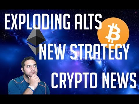 Exploding Alt Coins | New Strategy | Crypto News