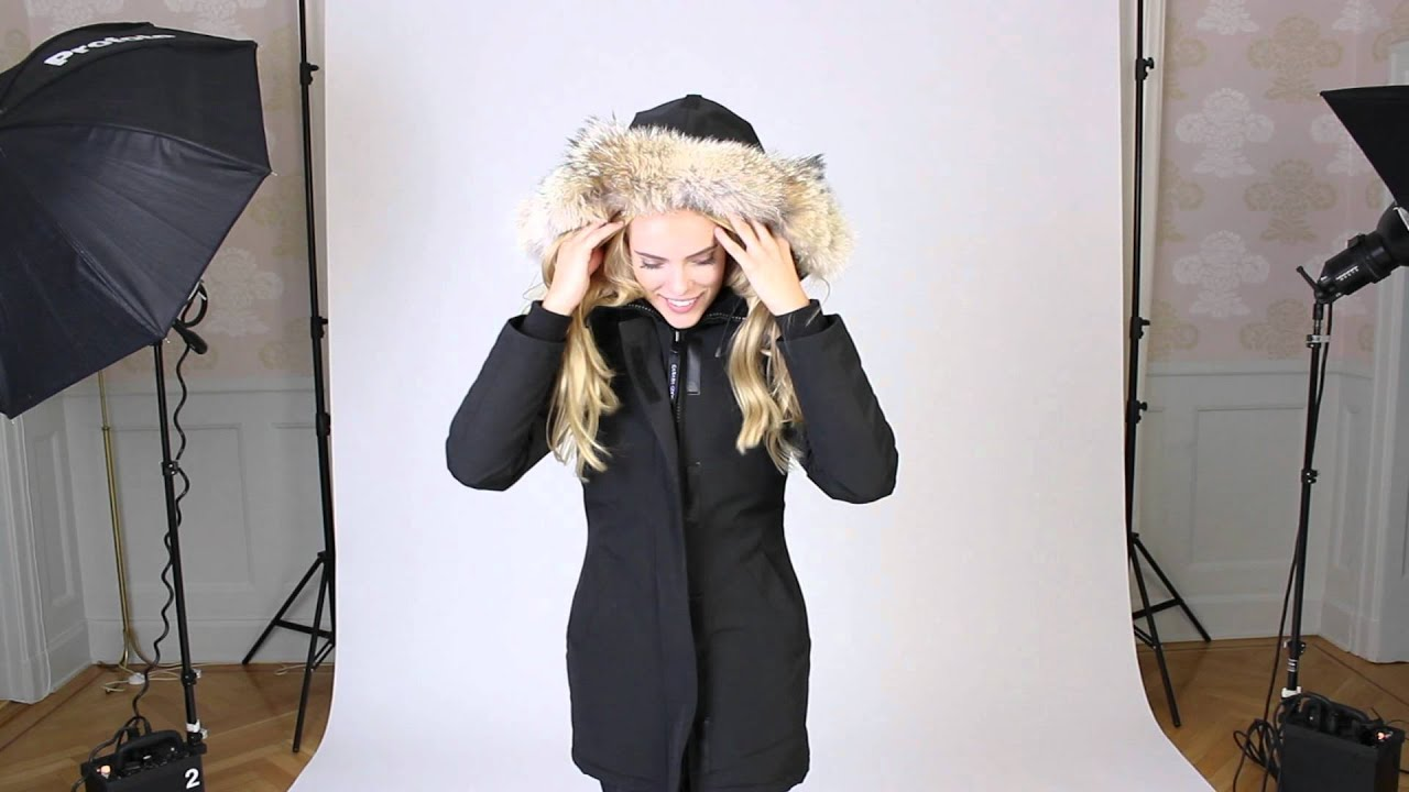 Canada Goose langford parka sale store - Canada Goose jacka Victoria parka black small 2012/09/17 - YouTube