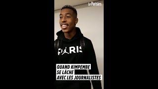 Quand Kimpembe se lâche avec les journalistes