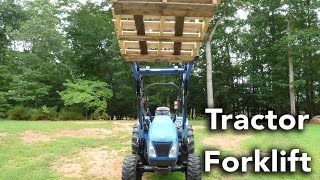 Forks: Essential Tractor Attachment