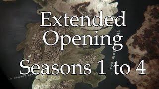 Game of Thrones : Extended Opening (castles from seasons 1 to 4)