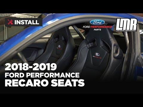 2018 2020 Mustang Recaro Seats Ford Performance Youtube