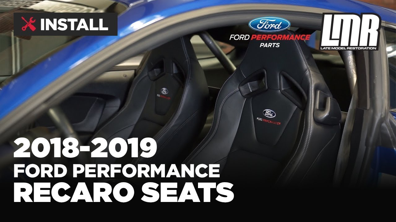 2018 2020 Mustang Recaro Seats Ford Performance Youtube