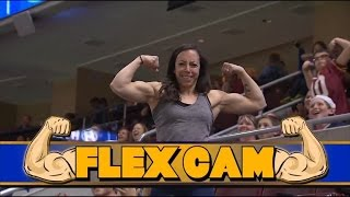 Man Showing Off Guns on Flex Cam Gets Shown Up By Woman