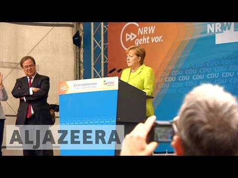 Merkel's party wins key German state election