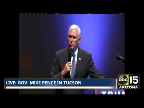FULL Q&A: Gov. Mike Pence Townhall in Tucson Arizona - Improved Audio - Donald Trump