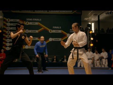 Download Cobra Kai - Final Fight Scene | Miguel vs Robby