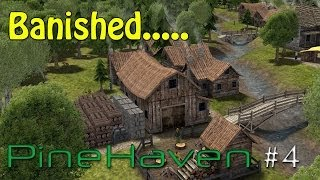 Banished Lets Play part 4 Disaster strikes PineHaven