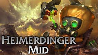 League of Legends | Hazmat Heimerdinger Mid - Full Game Commentary