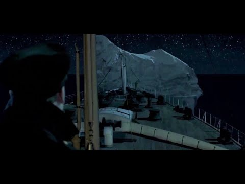 Download Titanic Iceberg Collision without music HD