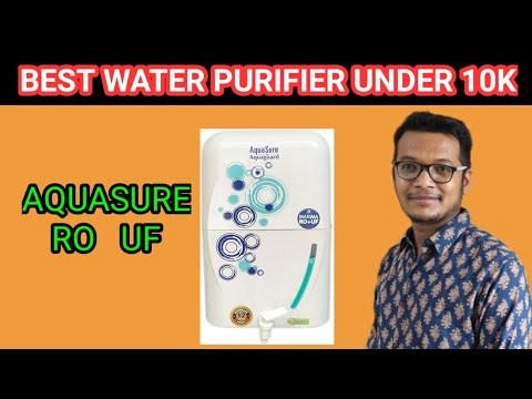 Aquasure From Aquaguard Maxima RO + UF Unboxing & Review
