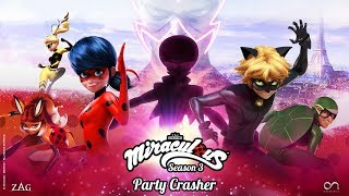 MIRACULOUS | 🐞 PARTY CRASHER - OFFICIAL TRAILER  🐞 | Tales of Ladybug and Cat Noir