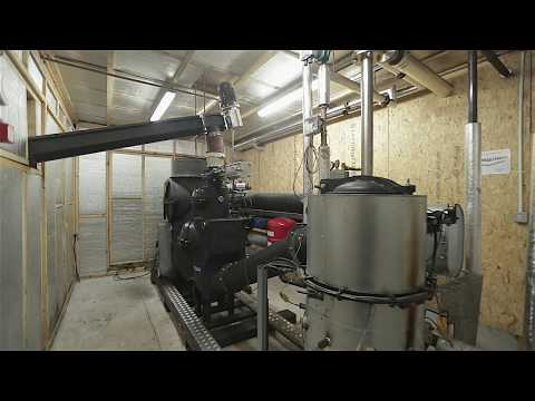 Biomass CHP installation – wood chips to power and heat - Scotston Farm