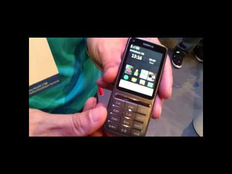 Nokia C3 Touch and Type Demo at Nokia World