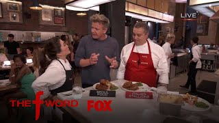 Gordon Ramsay Samples The Two Dishes   Season 1 Ep. 6   THE F WORD