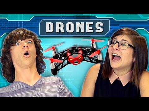 TEENS vs. DRONES (REACT: People vs. Technology)