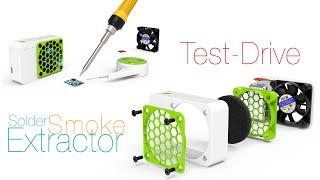 Solder Smoke Extractor Test Drive