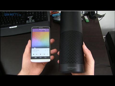 amazon echo review the speaker with alexa youtube. Black Bedroom Furniture Sets. Home Design Ideas