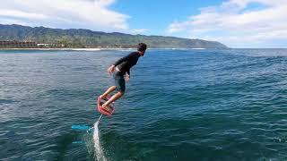 Hydrofoil Surf Heaven in Hawaii