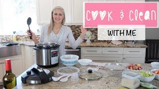 COOK & CLEAN WITH ME 2018 ~ CLEANING MOTIVATION ~ SUPER RELAXING